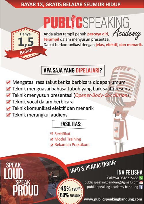 Public Speaking Academy Bandung