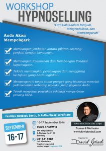 Workshop Hypnoselling