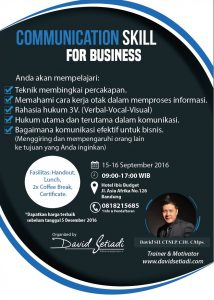 communication skill for business